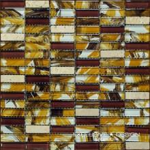 Mozaika szklano-kamienna A-MGL08-XX-003