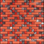 Glass & Stone Mosaic A-MMX08-XX-013