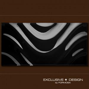 3D Top Wave – black A-TGL08XX-002