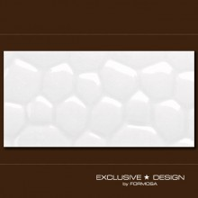 3D Cobble – white A-TGL08XX-006