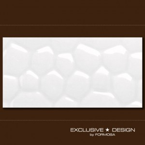 3D Cobble – white A-TGL08XX-006