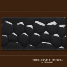 3D Cobble – black A-TGL08XX-007