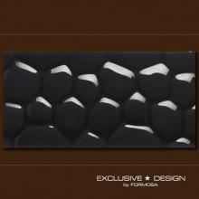 3D Cobble – black A-TGL08XX-007