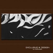 3D Silk – black A-TGL08XX-017