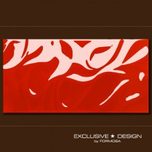 3D Silk – red A-TGL08XX-018