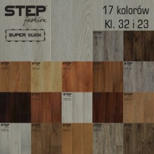 Vinyl flooring STEP FASHION – Home