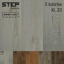Vinyl flooring STEP FASHION – Commercial